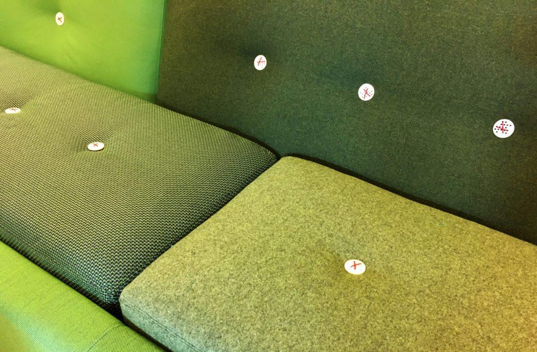 herstoffering polder sofa, ploegstoffen, kvadrat