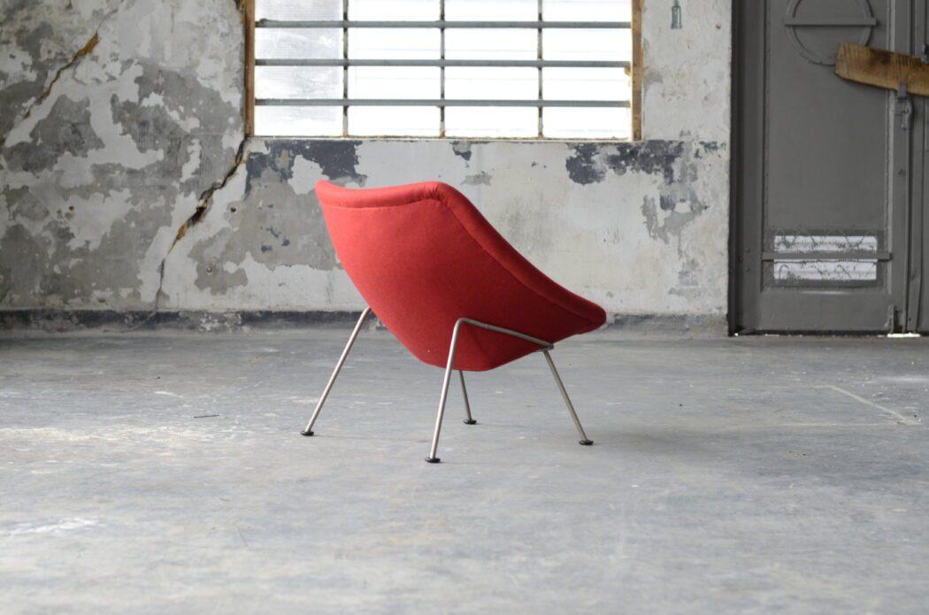 Herstoffering Oyster chair